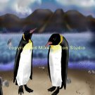 Long Live the King (King Penguin Print)