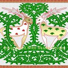 Holly Jolly Christmas Celtic Knot Print