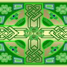 Clover Cross (Celtic knot) Print
