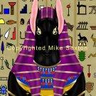Anubis Portrait Print