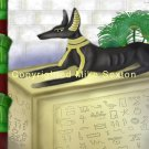 Funerary Anubis Print