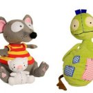 Toopy, Binoo & Patchy Patch Plush Bundle