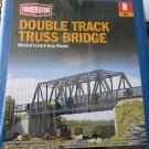 N scale double track truss bridge