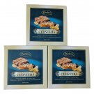 Three Box Bartons Peanut Caramel Crisp Clusters Smooth Milk Chocolatey Confection