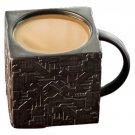 New, Exclusive Star Trek Borg Cube Mug, Ceramic, 12 oz.
