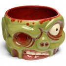 New, Zombie Bowl, Ceramic, 32 fl. oz. Approx. Capacity