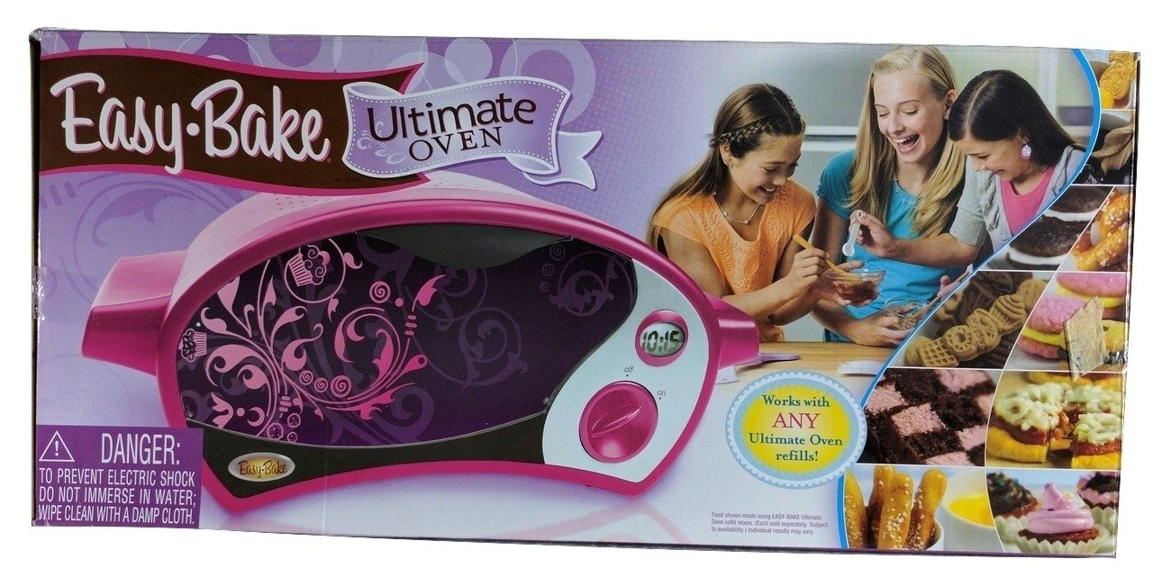 NEW, Hasbro Easy Bake Ultimate Oven, with Bonus Pack Edition , Color Magenta