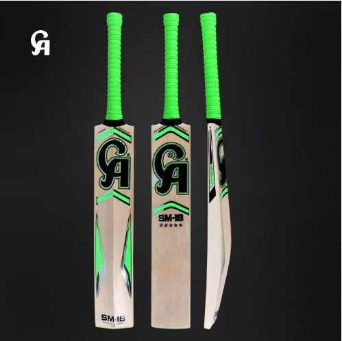 CA English Willow Cricket Bat SM-18 5 Star Weight From 2lb 7oz to 3lbs with free Grip+Protector