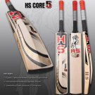 HS English Willow Cricket Bat HS Core 5 Weight From 2lb 7oz to 3lbs with free Grip+Protector.