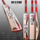 HS English Willow Cricket Bat HS 5 Star Weight From 2lb 7oz to 3lbs with free Grip+Protector.
