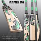 HS Spark 300 Cricket Bat Made Of English Willow With 7 to 8 Grains With Free Grip+Protector