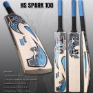 HS Spark 100 Made Of Unique English Willow With 7 to 8 Grains Stout Edges With free Grip+Protector