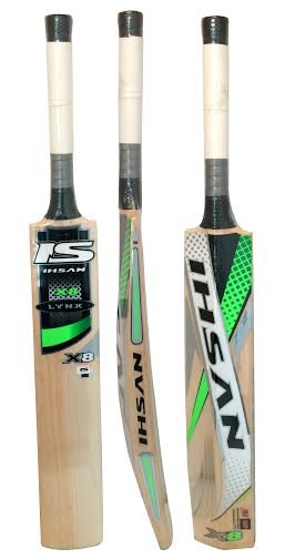 Ihsan LYNX X8 English Willow cricket bat Maximum Pike up and Balance with free grip+protector