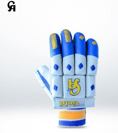 CA White Gold Batting Gloves Made from assorted sheep skin Available for LH & RH Batsman