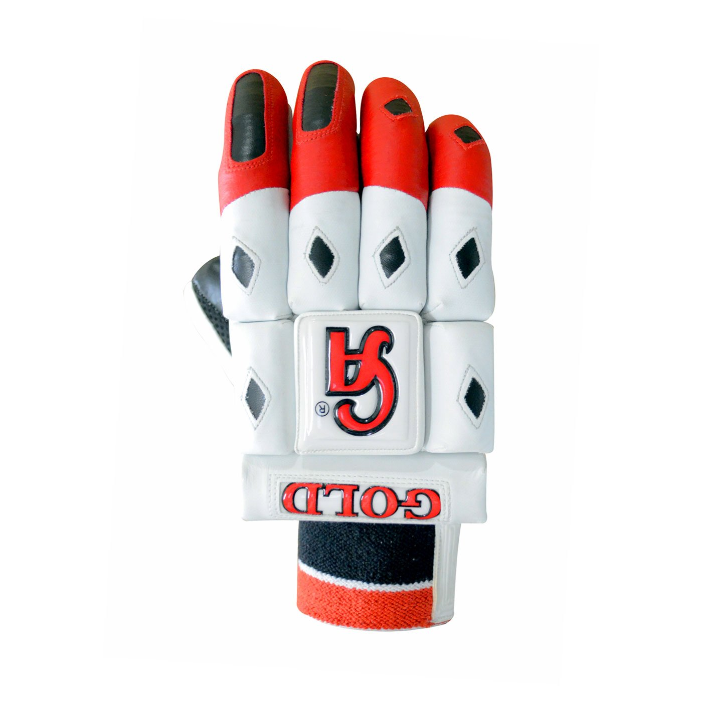 CA GOLD Batting Gloves Made up of Korean PU along with sheep skin Available for LH & RH Batsman
