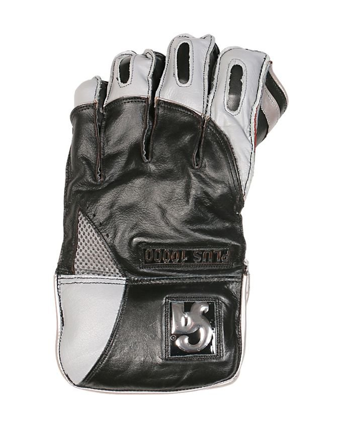 CA Plus 10000 Wicket keeper Gloves Made of Top Quality Cowhide Leather Available in different size