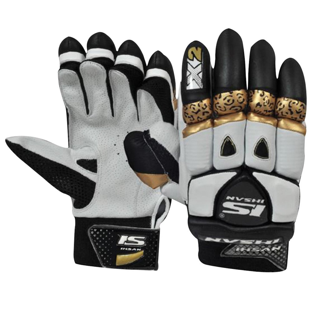 Ihsan X2 LYNX Batting Gloves Made of Original Pittards Leather Available for LH & RH Batsman