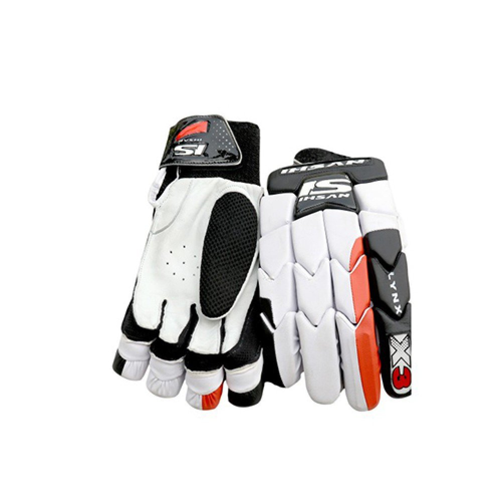 Ihsan X3 LYNX Batting Gloves Made of Original Pittards Leather Available for LH & RH Batsman