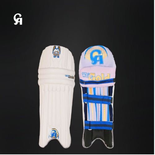 CA White Gold Batting Pad Super light weight Made of imported materials Available in different sizes