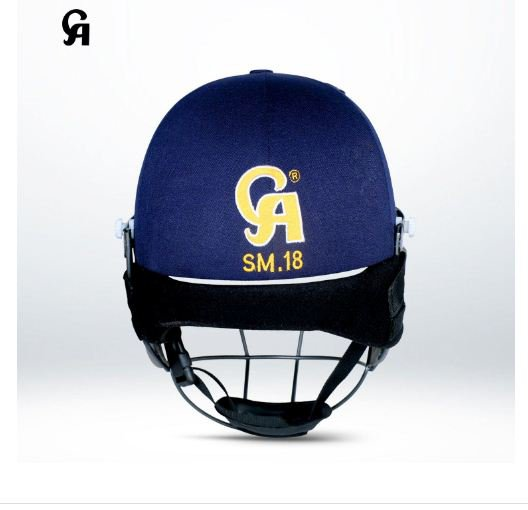 CA SM-18 Helmet Improved Full Head Cushioning of Durable Rubber & EVA Compound Power coated.