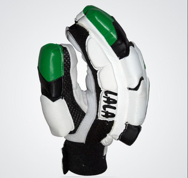MB LALA Batting Gloves Made of Original Pittards Leather for extra Grip Size Men, Large Men.