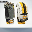 MB Bubber Sher Batting Gloves Made of Original Pittards Leather for extra Grip Size Men, Large Men.