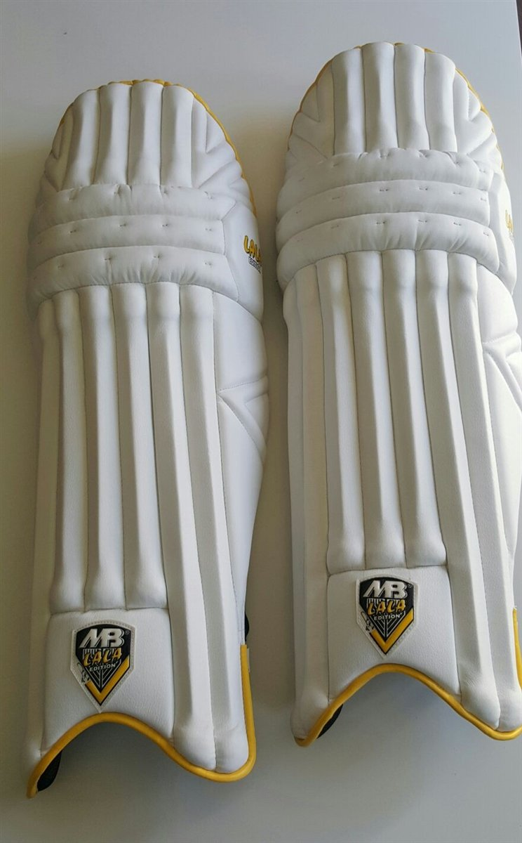 MB LALA Edition Batting Pad Light weight Made of imported materials Available in different sizes