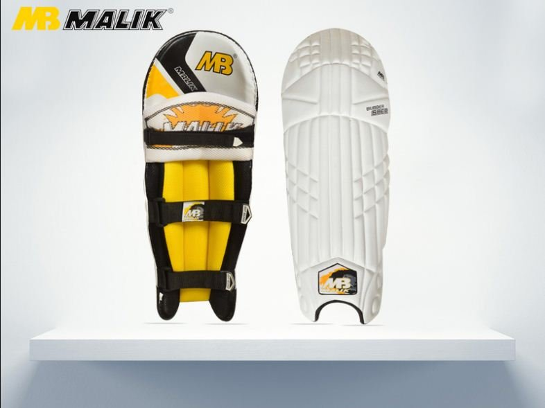 MB Bubber Sher Batting Pad Light weight Made of imported materials Available in different sizes
