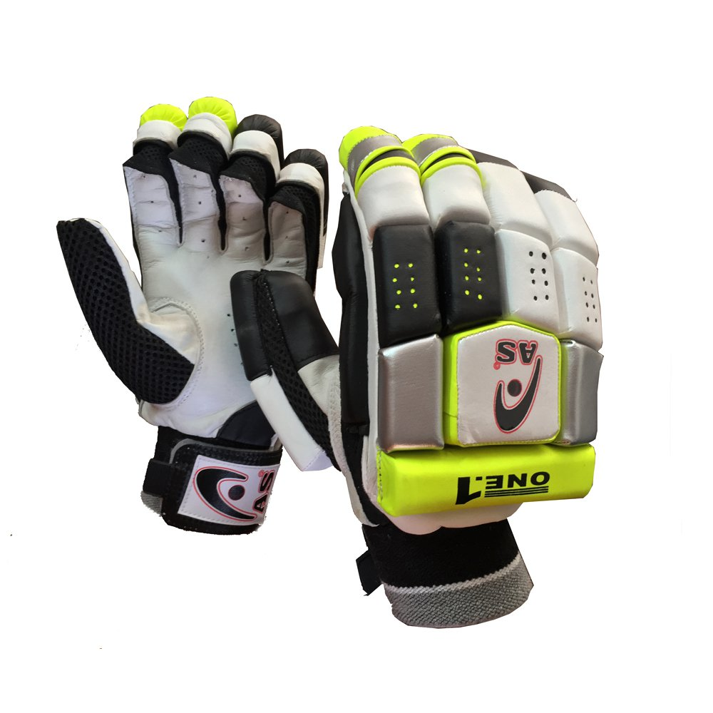 AS ONE.1 Batting Gloves Multi Section Design giving Extra Flexibility Available for LH & RH Batsman
