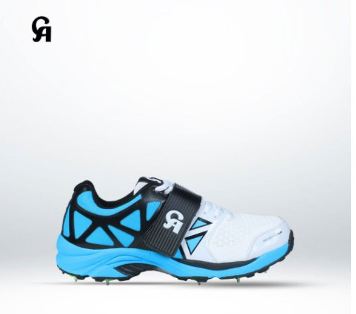 CA Big Bang KP Spike Cricket Shoes Made of hydrolyze high PU Available in various sizes and colors