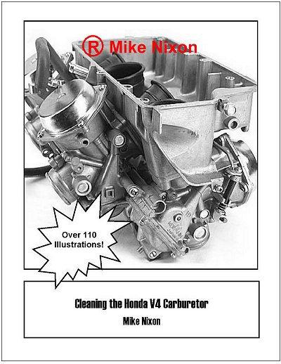Cleaning the Honda V4 Carburetor