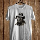 Merle Haggard Art White Tee's  Front Side by Complexart