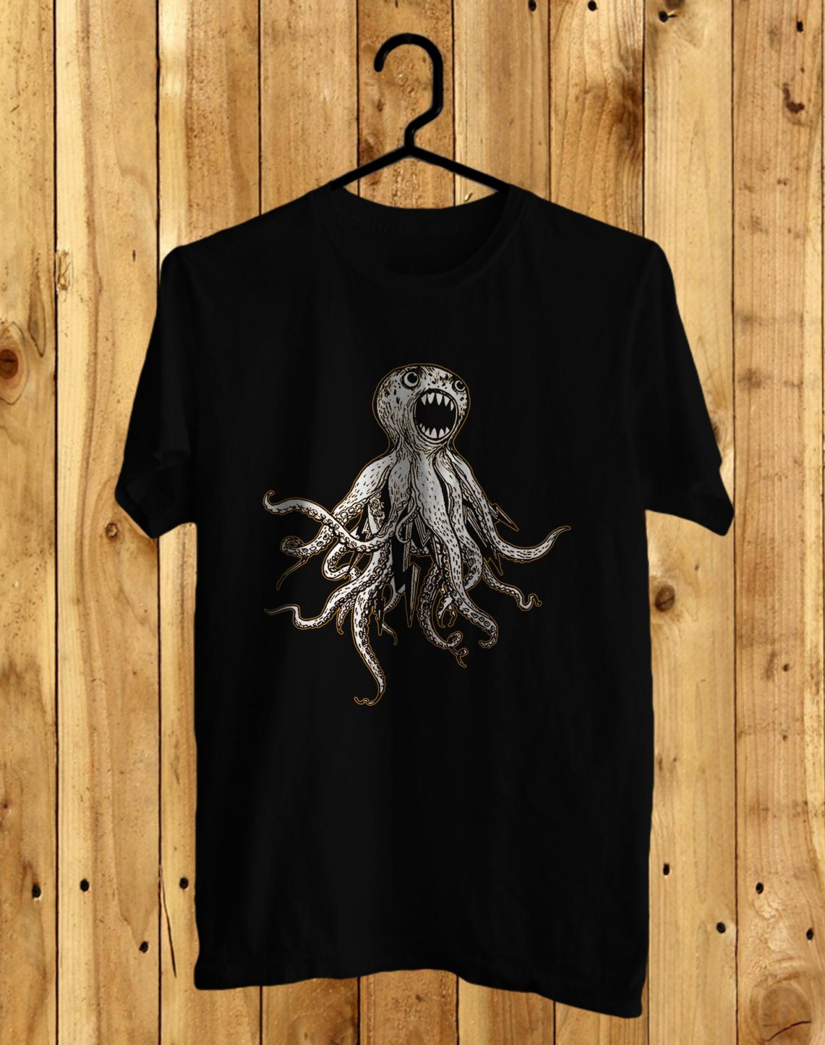 Dirty Heads Art Black Tee's Front Side by Complexart