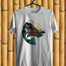 Leftover Salmons Band Logo White Tee's  Front Side by Complexart