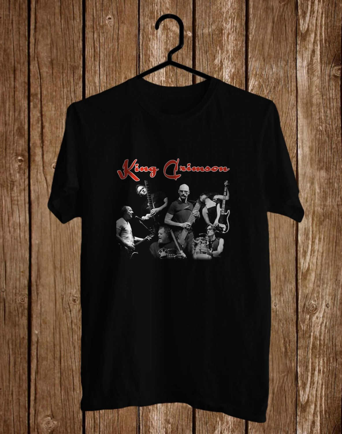 King Crimson Radial Action tour 2017 Logo Black Tee's  Front Side by Complexart c2