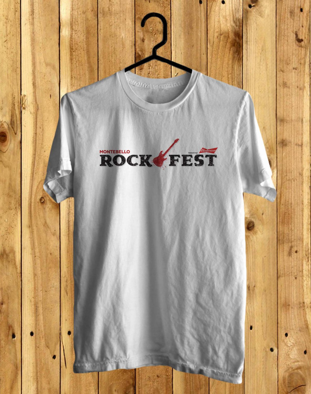 Montebello Rock Festival Jun 2017 WhitevTee's  Front Side by Complexart
