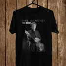 Paul McCartney One On One Tour 2017 Black Tee's  Front Side by Complexart c3