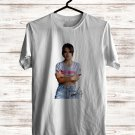Becky G Tour 2017 White Tee's Front Side by Complexart z1