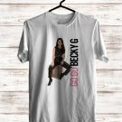 Becky G Tour 2017 White Tee's Front Side by Complexart
