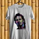 Tribute to Chris Cornell Soundgarden Vocalis White Tee's WPAP Front Side by Complexart
