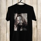 Tribute to Chris Cornell Soundgarden Vocalis White Tee's Front Side by Complexart z1