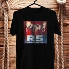 R5 : New Addictions Tour 2017 Black Tee's Front Side by Complexart z1