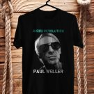 Paul Weller A Kind Revolution Tour 2017 Black Tee's Front Side by Complexart