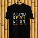 Paul Weller A Kind Revolution Tour 2017 Black Tee's Front Side by Complexart z2