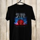 Jean-Michel Jarre Tour 2017 Black Tee's Front Side by Complexart z2