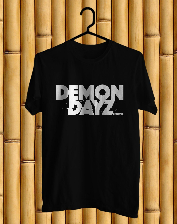 Demon Dayz Fest 2017 Black Tee's Front Side by Complexart