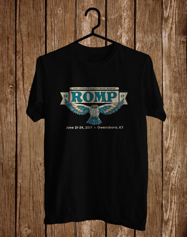 ROMP Fest Logo 2017 Black Tee's Front Side by Complexart  z2