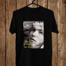 Tribute to Gregg Allman Black Tee's Front Side by Complexart z1