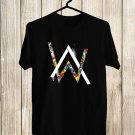 Alan Walker Logo 2017 Black Tee's Front Side by Complexart