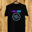 Float Fest July 2017 Black Tee's Front Side by Complexart